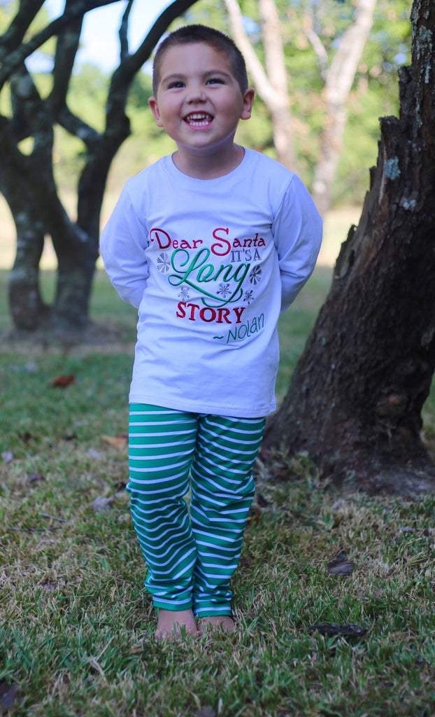 Boys Dear Santa Lounge Wear
