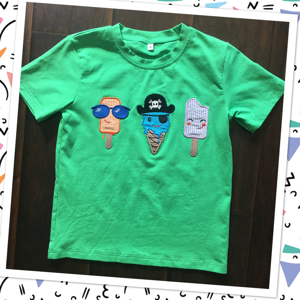 Boys Too Cool Icecream Tee