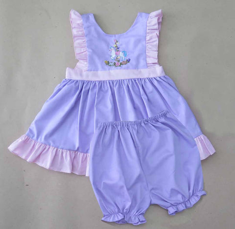 Carousel Horse Bloomer Set