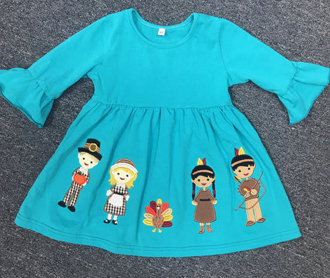 Pilgrim Teal Dress