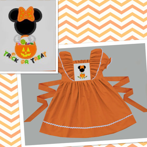 Trick or Treat Minnie Dress