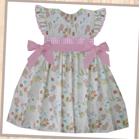 Spring Bunny Tie Dress