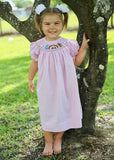 Pink Nativity Bishop Dress -