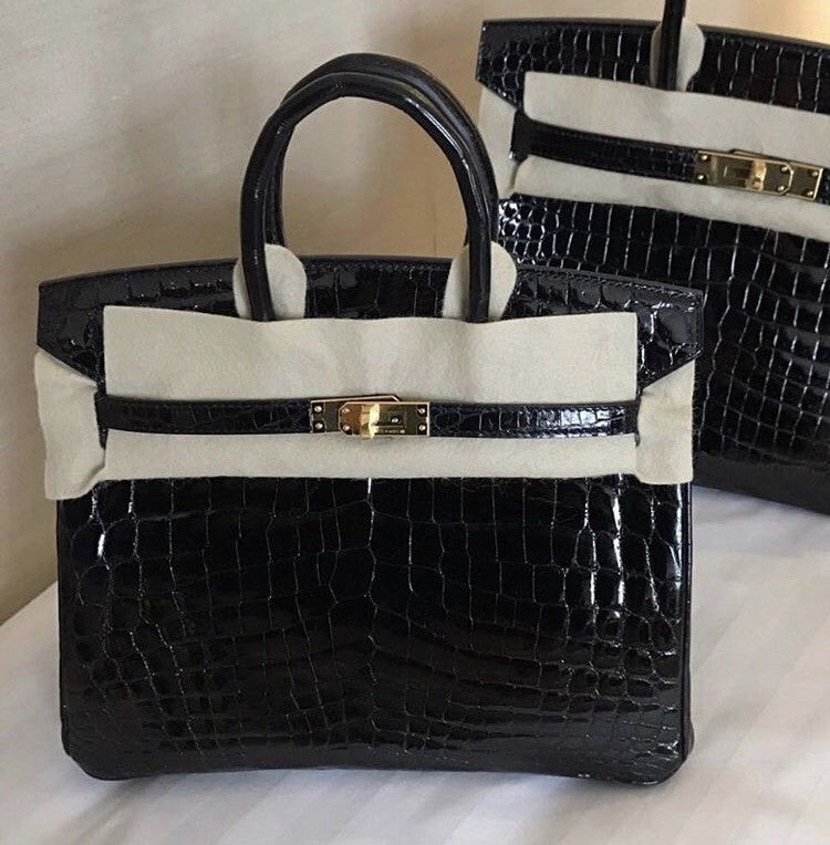 b9111f4d2ff Londonista Boutique · Search Cart. Hermes Birkin 25 croco Nilo shiny gold  hardware