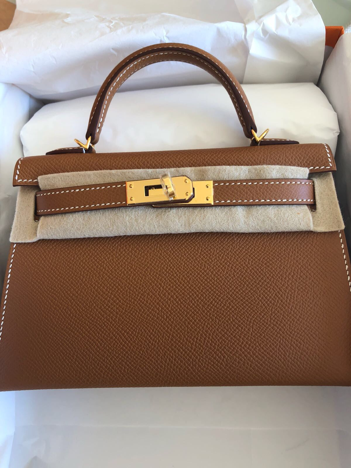 31ec31a501d5 Hermes Mini Kelly II GOLD – Londonista Boutique