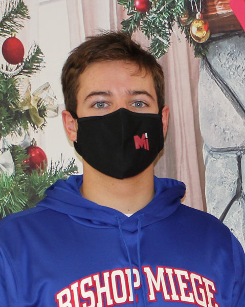 Mask - Black Mask with Red or Blue Power M