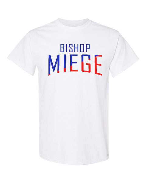 Tee - Miege Red & Blue