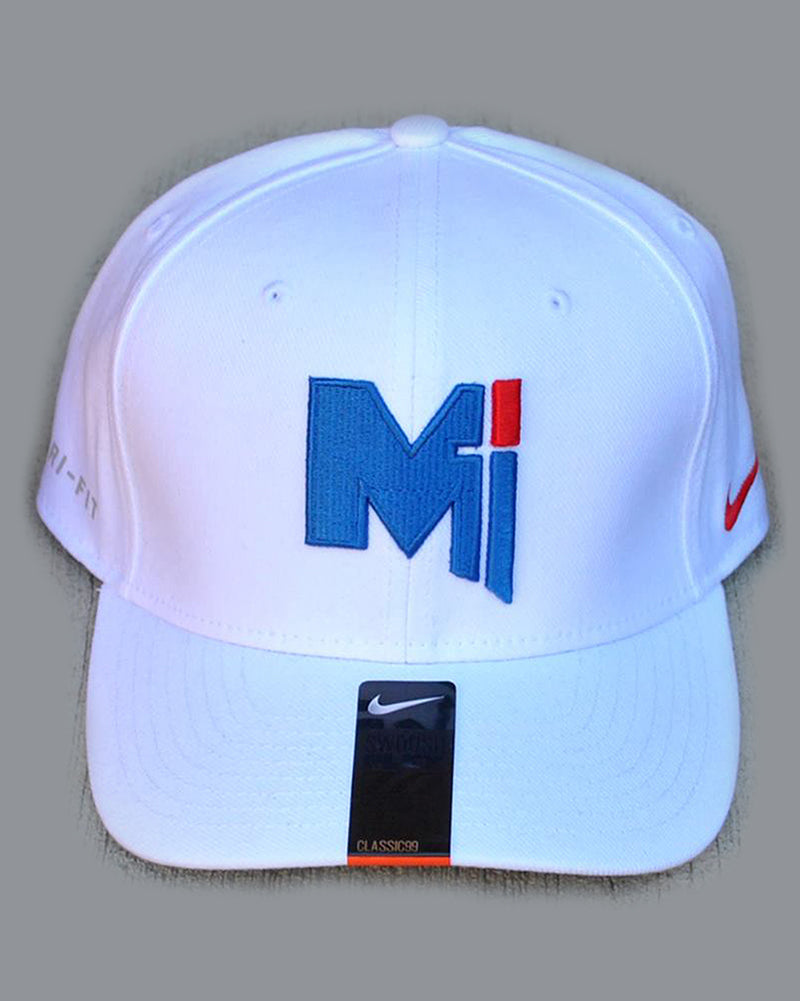 Hats - White Miege Ball Cap
