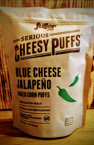 Blue Cheese Jalapeno Cheesy Puffs