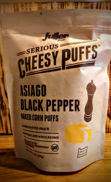 Cheesey Puffs - Asiago Black Pepper