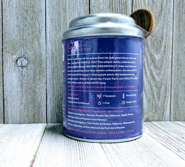 JusTea Purple Rain Tin