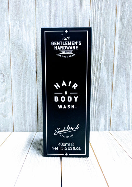 Gentlemen's Hardware Hair and Body Wash - Sandelwood