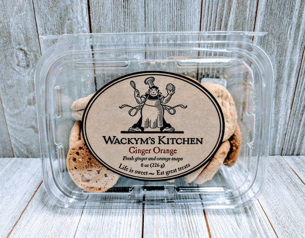 Wackym's Ginger Orange Cookies