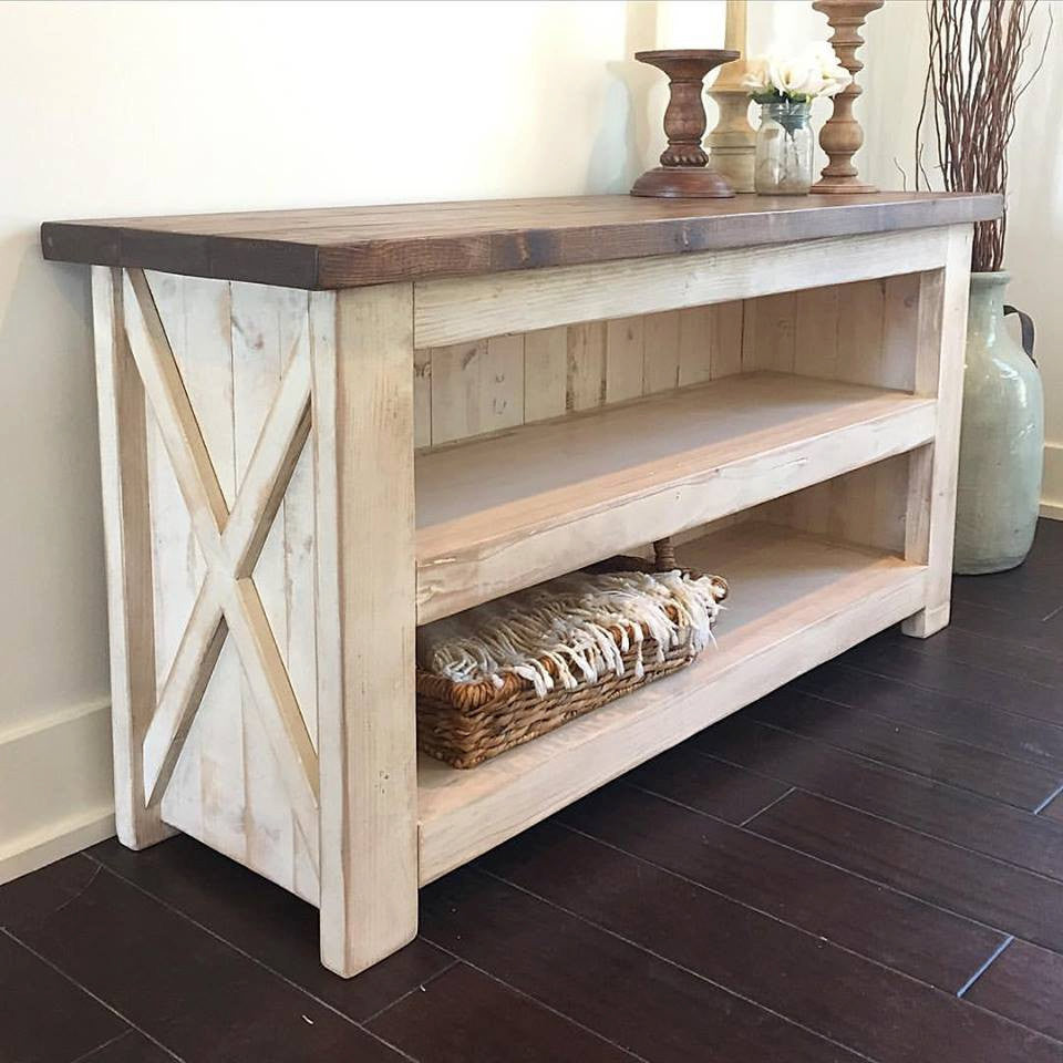 Island Cottage Media Console Table
