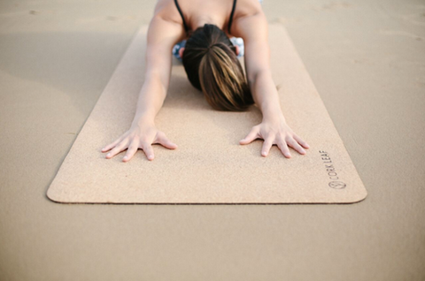 Natural Yoga Mat for Christmas