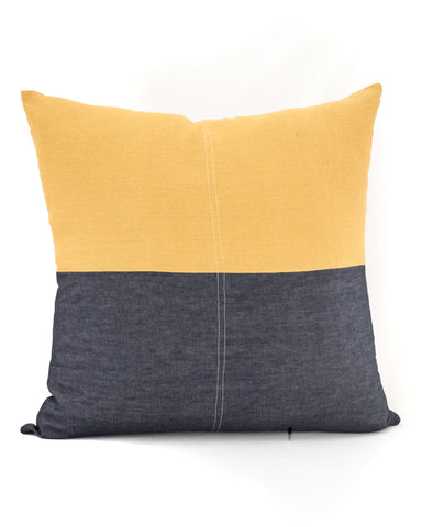 The Mustard Brown Floor Cushion