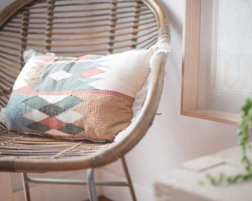 hand loomed cushion
