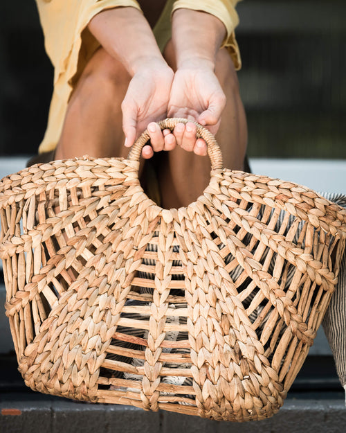 Basket Bag Open Weave