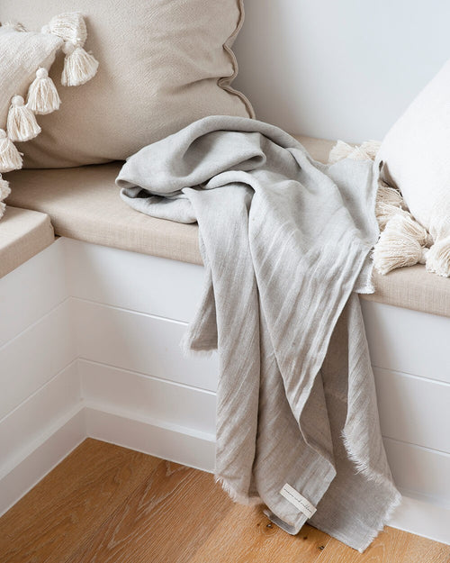 Indah Linen Beach Sheet - Weave and Willow