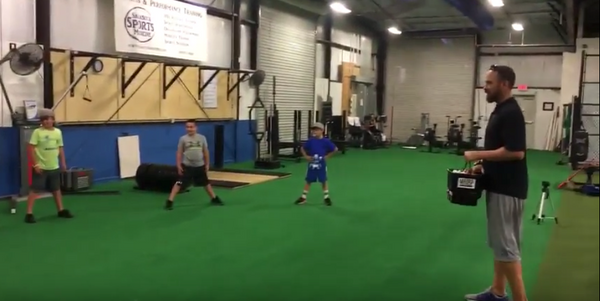 Training Drills at Extra Innings in Sarasota, FL