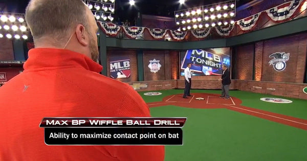 MaxBP featured on MLB Tonight with Sean Casey