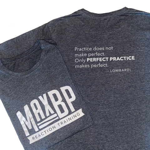 "50% off - MaxBP Winter 2018/19 T-Shirt: ""Perfect Practice"" - Outlet"