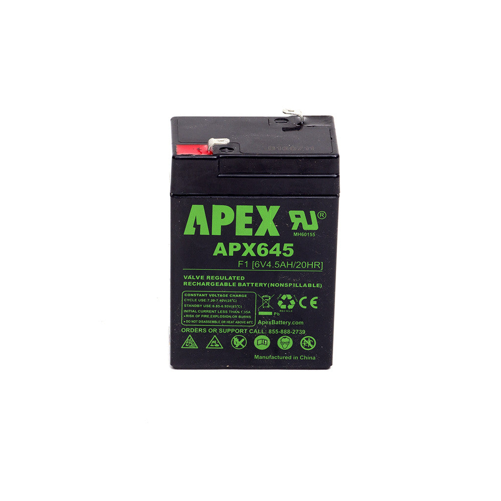 Replacement battery for MaxBP Wiffle Ball Pitching Machine