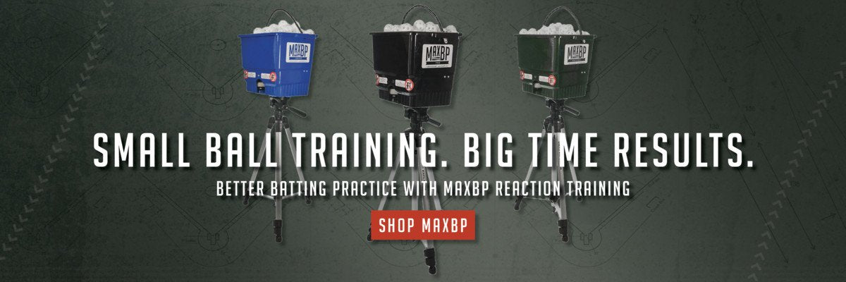 MaxBP Wiffle Ball Pitching Machines