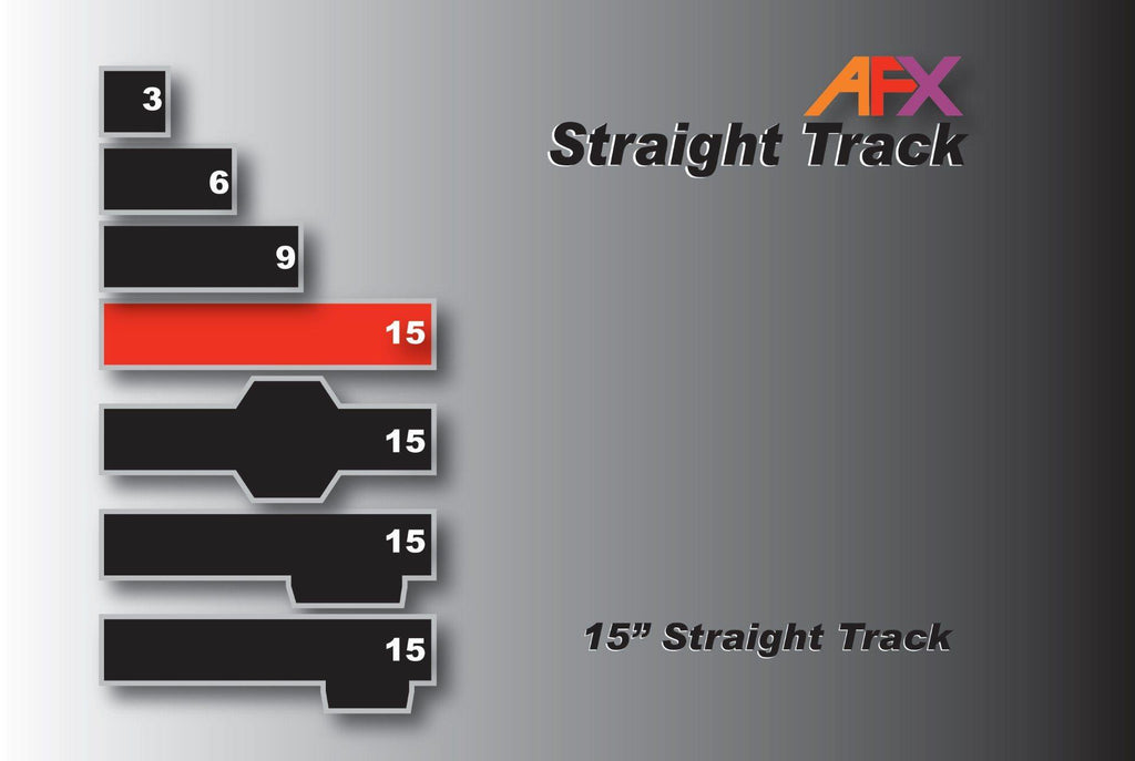 AFX 70600 15 Inch Straight | Pinnacle Hobby