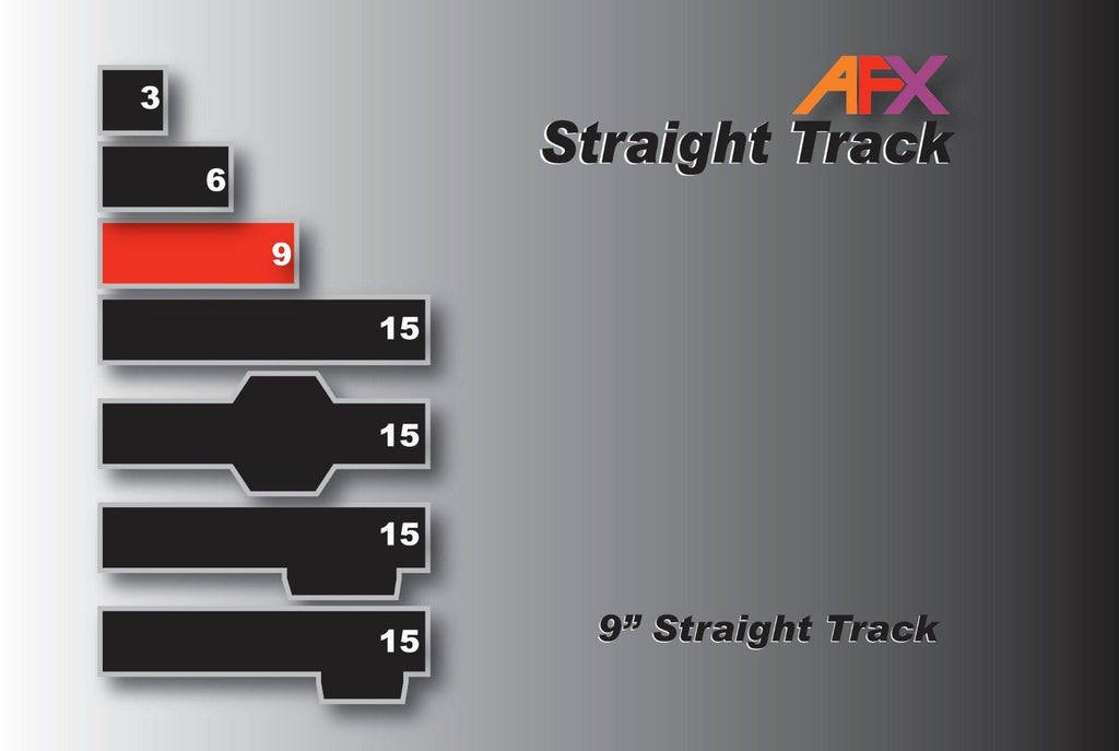 AFX 70601 9 Inch Straight | Pinnacle Hobby