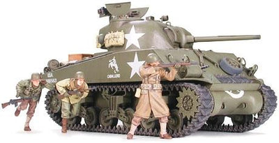 Tamiya 35250 1/35 M4A3 Sherman 75 mm | Pinnacle Hobby
