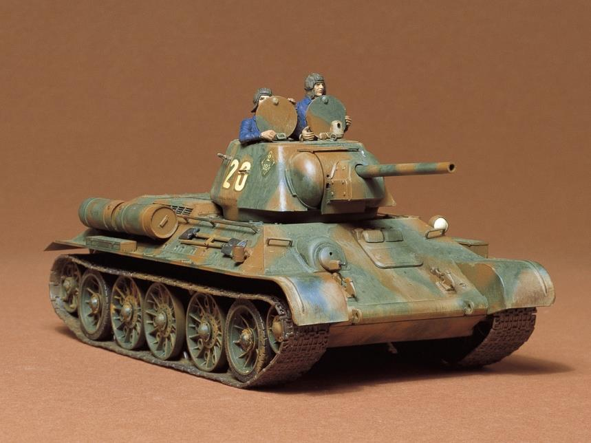 Tamiya 35059 1/35 Russian T34/76 1943 Tank | Pinnacle Hobby