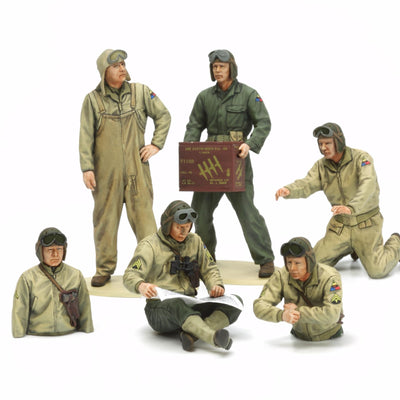 Tamiya 35347 U.S. Tank Crew European Theatre | Pinnacle Hobby
