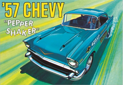 AMT 1079 1/25 1957 Chevy Pepper Shaker | Pinnacle Hobby