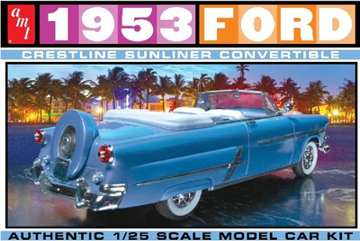 AMT 1026 1/25 1953 Ford Crestline Starliner Convertible | Pinnacle Hobby