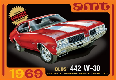 AMT 1105 1/25 1969 Olds 442 W-30 | Pinnacle Hobby