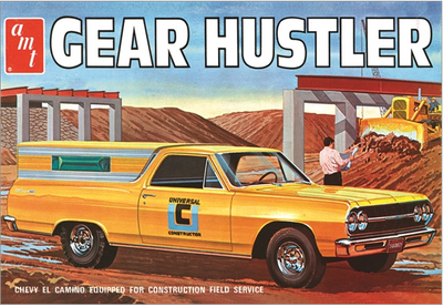 AMT 1096 1/25 Gear Hustler Chevy El Camino | Pinnacle Hobby
