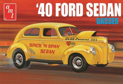 AMT 1088 1/25 1940 Ford Sedan Gasser | Pinnacle Hobby