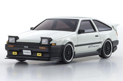 Kyosho 32172GTV-B MINI-Z AWD MA-020VE PRO Trueno GTV AE86 White+D Evo. BCS | Pinnacle Hobby