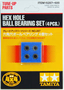 Tamiya 15287 Hex Hole Bearing Set 4pcs | Pinnacle Hobby