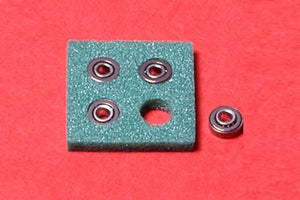 Tamiya 15111 Round Hole Bearing | Pinnacle Hobby