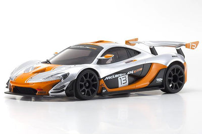 Kyosho 32324SO-B MINI-Z RWD McLaren P1 GTR Silver/Orange MR-03 RS