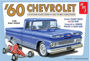 AMT 1063 1/25 1960 Chevy Fleetside Pickup | Pinnacle Hobby
