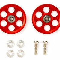 Tamiya 95404 19MM HG Ball Race Rollers: Red | Pinnacle Hobby