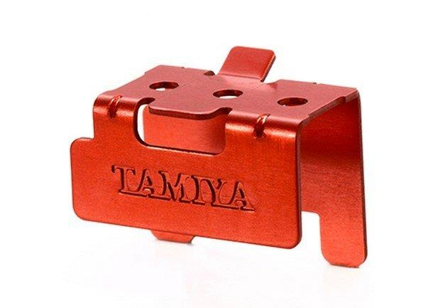 Tamiya 95352 Red Aluminum Motor Support | Pinnacle Hobby
