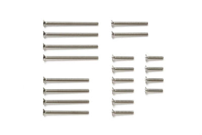 Tamiya 15510 Stainless Countersunk Screw Set | Pinnacle Hobby