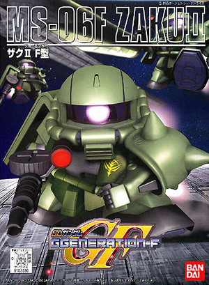 Bandai 0103330 BB218 SD MS-06F Zaku | Pinnacle Hobby