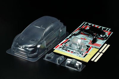 Tamiya 51608 1/10 Toyota Yaris Clear Body | Pinnacle Hobby