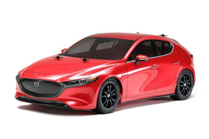 Tamiya 58671 1/10 Mazda 3 TT02 with Hard Lower Deck | Pinnacle Hobby