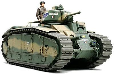Tamiya 35282 1/35 French Battle Tank Char B1 Bis | Pinnacle Hobby